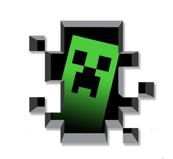 Minecraft Creeper Inside tapeta