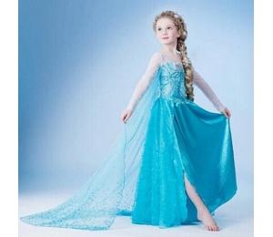 7b5a2ac1c32a Dětské šaty kostým ledové království Elsa vel. 110