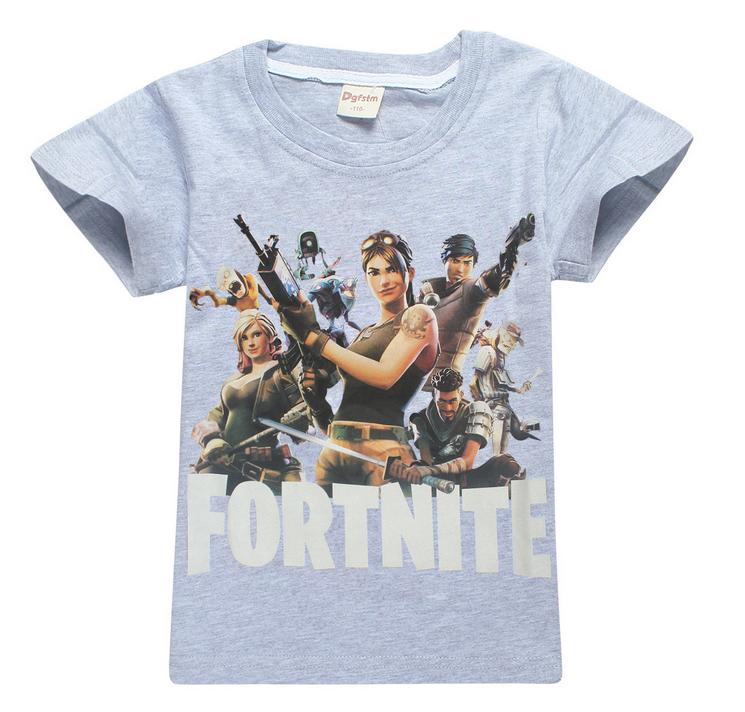 cfcea00a95c9 Dětské tričko Fortnite šedé vel.120