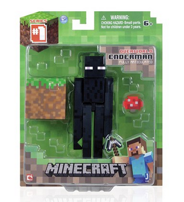 Figurka Minecraft ENDERMAN