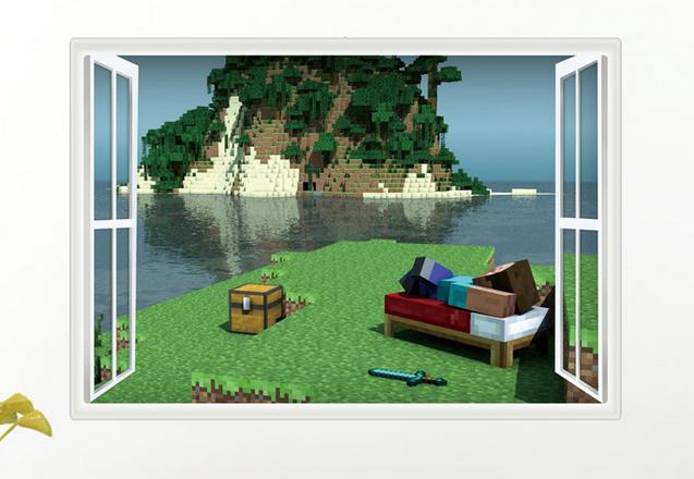 55dc2256229b Minecraft tapeta č.5