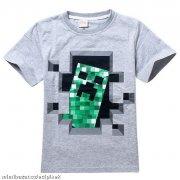 Tričko Minecraft šedé vel.130 empty 59570886ed